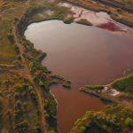 Розовое озеро, Кривой Рог